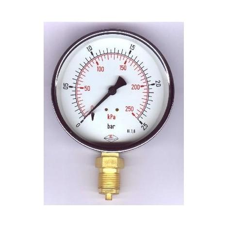 Tlakoměr - 312/1%, průměr 100 mm