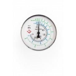 Tlakoměr - 100, průměr 100 mm